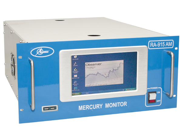 RA-915AM 大気中水銀モニター